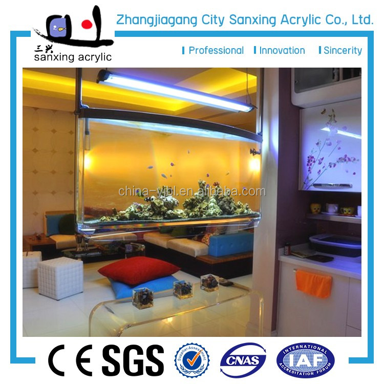 2016 fashion design customized acrylic aquarium sump