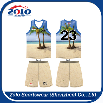 Wholesale factory direct price cool quick dry custom basketball jerseys