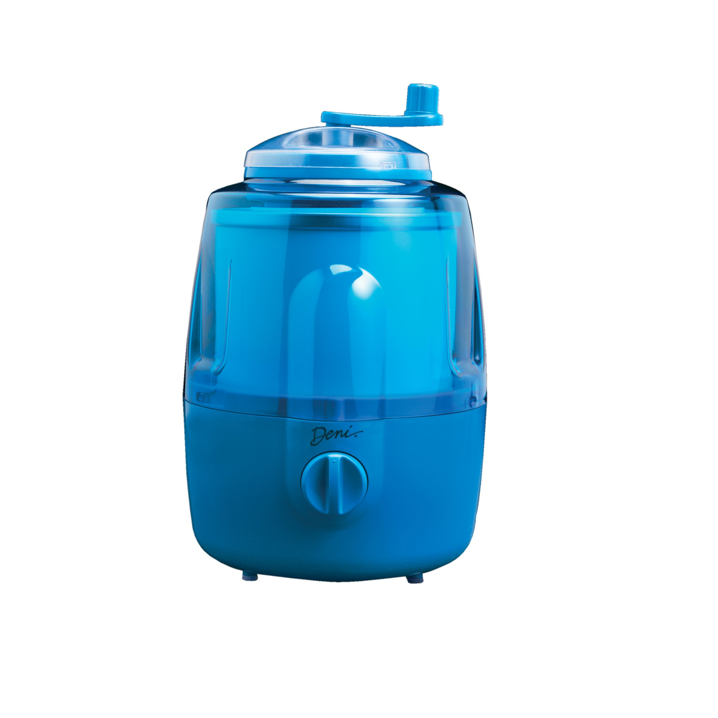 Deni 5201 Fully Automatic 1-1/2-Quart Ice-Cream Maker with Candy Crusher, Blueberry