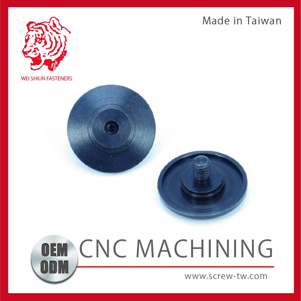 Taiwan Manufacturer CNC Lathe Black Oxide Stainless Steel Dome Head Bolts