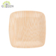 Bamboo Material Biodegradable Sushi Plate