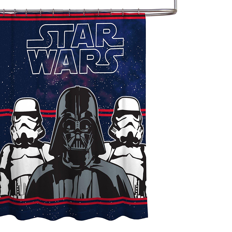 Get Quotations Star Wars Darth Vader Microfiber 70 X 72 Fabric Shower Curtain