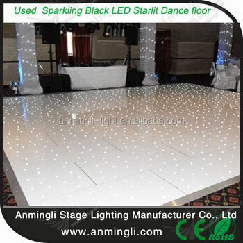 Al 8450 Removable Used Sparkling Led Starlit Dance Floor For Wedding Party
