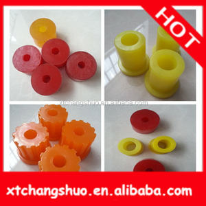 Rubber bushing/PU bushing Factory carbide collared bushes