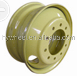 automobile tube and tubeless wheel rims OEM supplier without tires