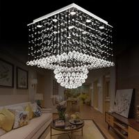 Contemporary Decorative Wholesale Luxury Hotel Wedding Industrial Cristal Modern Led Crystal Chandelier Pendant Light Lighting