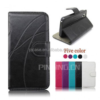 New arrival flip leather cover cell phone case for blackberry Priv, wallet case for blackberry Priv