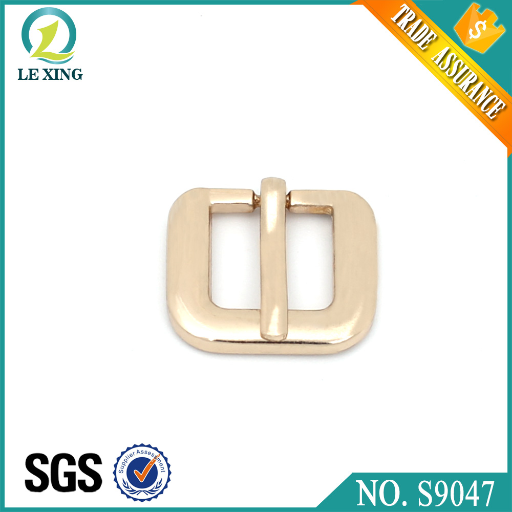 Wholesale fashion 12mm custom square belt buckle bag handbag with cheap price