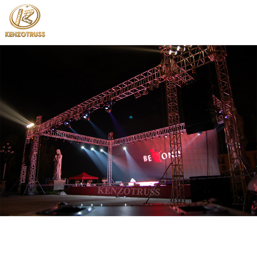 Outdoor Cheap Aluminum Stage  Speaker Truss Lift for sale