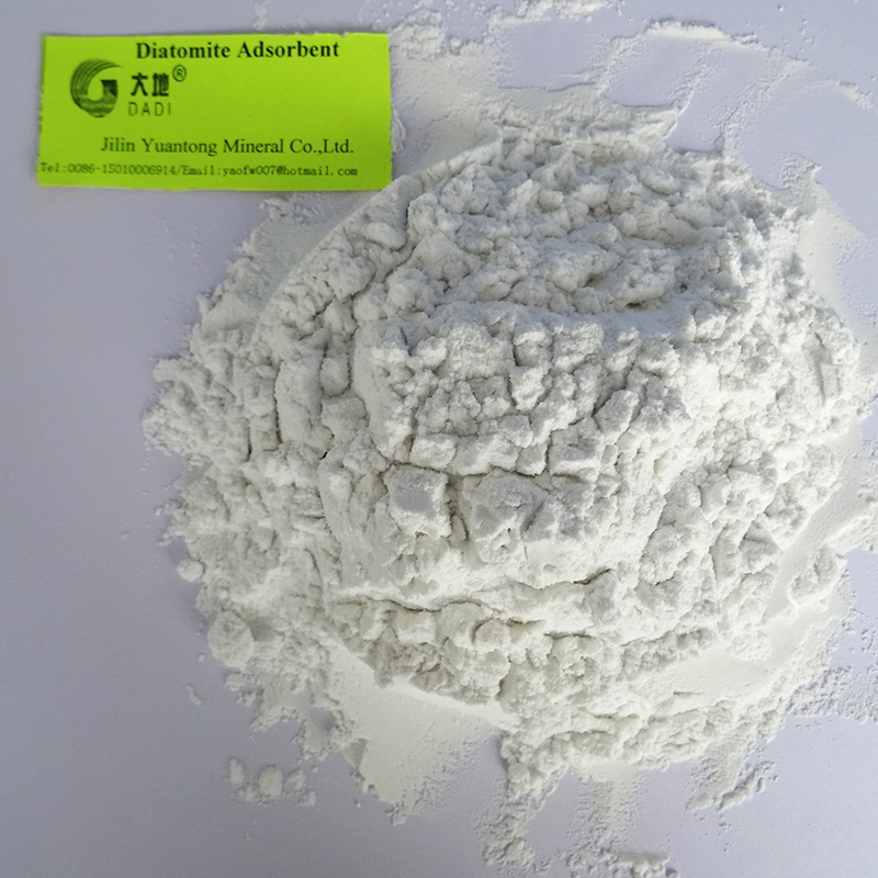 Aluminum foil copper foil industrial absorbent and filler diatomite