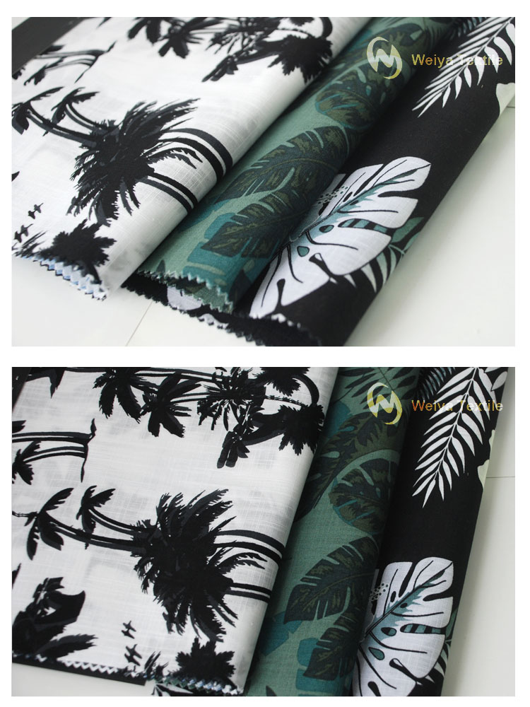 Kustom Hawaii Plant Print Pria Shirting Desain Katun Reaktif Dan Digital  Printing Kain - Buy Motif Katun Kain Cetak Digital Kain Dicetak Fabric  Fabric