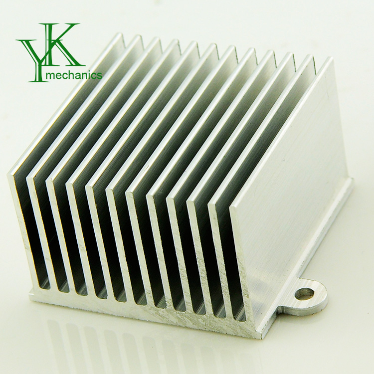 Ultra thin recessed heat sink led aluminum profile