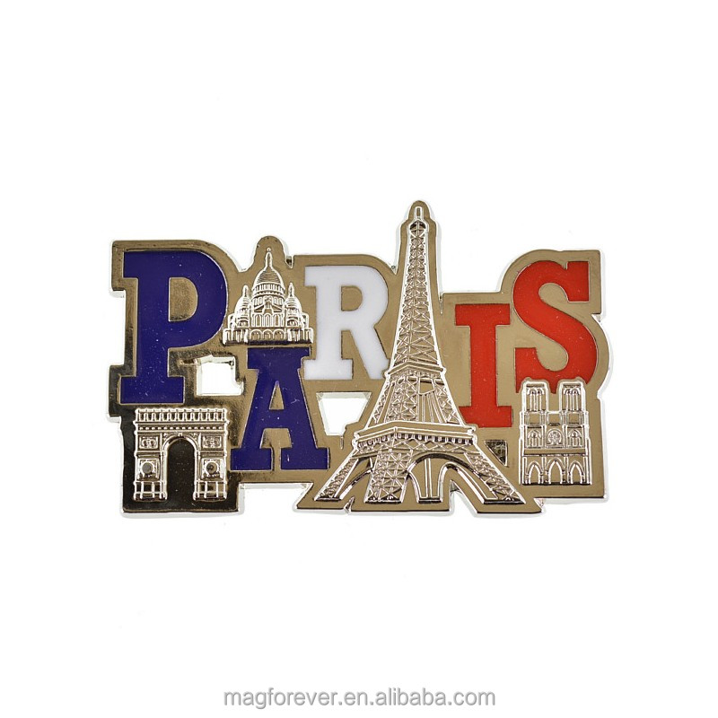 Custom 3d fridge magnet for different countries