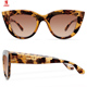Wholesale custom gafas de sol 2019 glasses women polarized cat eye sunglasses