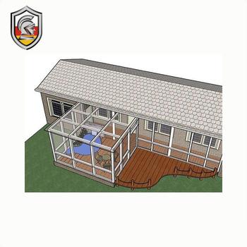 Precio De Nuevo Diseño Promocional Casas De Vidrio Aluminio Terraza Acristalada Buy Vidrio Terrazas Interiores Decoración Terrazas Aluminio Terrazas