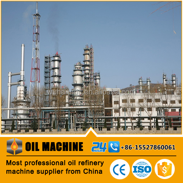 Chinese GB standard HDC029 ISO proved overseas service center available oil refining industry fuel refinery units for sale