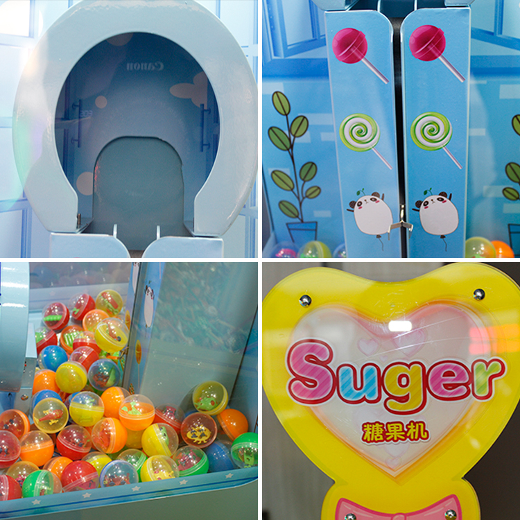 AKE Coin Operated Games Kids Vangst Snoep Speelgoed Capsule Vending Game Machine