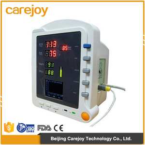 CE Approved 7 Inch Portable Multi-Parameter Vital Signs Monitor Patient Monitor