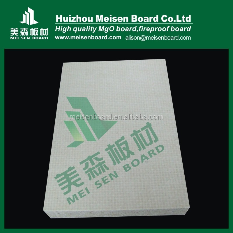 fireproof material mgo board /fireproof mgo board/magnesium oxide sheet