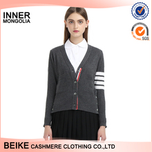 Wholesale 2018 new fashion cardigan style 100% cashmere sweater
