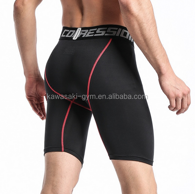 men compression fitness shorts for wholesale gym shorts