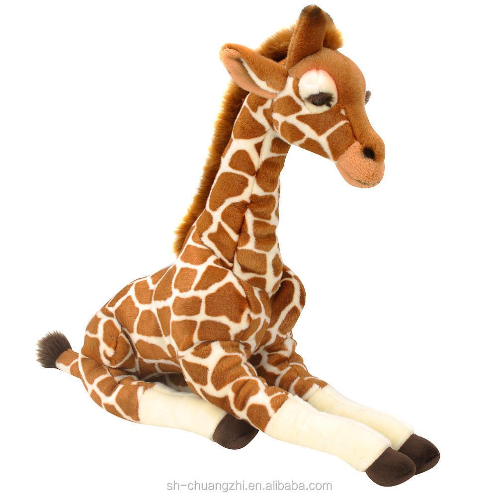 Lebendige riesen nette neue design zoll plüsch giraffe