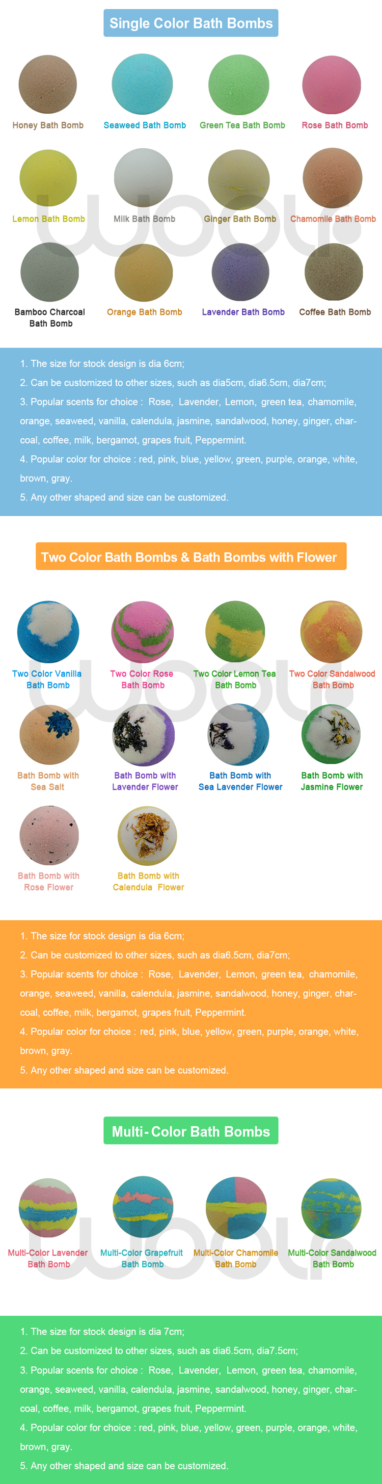 Amazing Stock new bath bombs gift set in mini bath tub