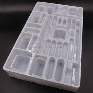 2018 Guangzhou small parts vaccum form blister tray