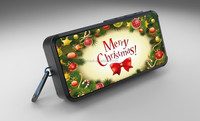 Christmas gift mini promotional speaker with your design