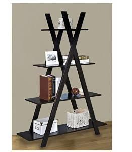 image ladder bookshelf design simple furniture. Get Quotations · Our Criss Cross Bookshelf Has A Slanted Design. The Slant Is An Ideal Image Ladder Design Simple Furniture