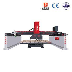 China Shandong Datang machinery DTQ-1000 granite marble infrared bridge saw cutting machine