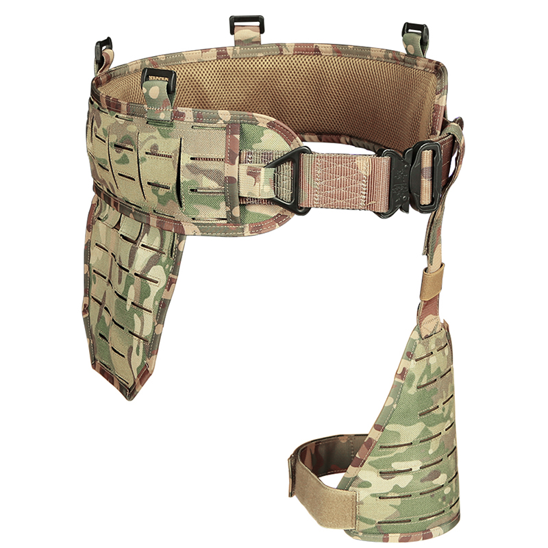 WoSporT Manufacturer Military Tactical Hunting Waist Seal Nylon Quick Release Belt for Sports Airsoft Paintball Outdoor Army