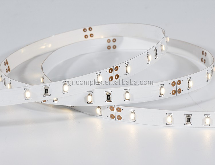 High CRI80 CRI90 300LEDs 12V/24V 3014SMD Flexible vertical Led Strip 7.2W/M with IP20-IP68