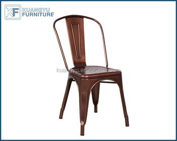 Stile antico oro rosa metallo sgabello sedia bar sedili sedili di