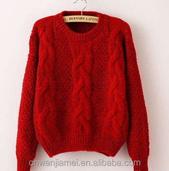 2017 Fancy Ladies Pullover Patterns Knitted Cashmere Sweater Buy
