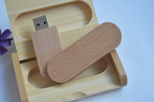 Customize wooden usb flash drive with wooden box, wooden usb key, wooden box usb flash drive