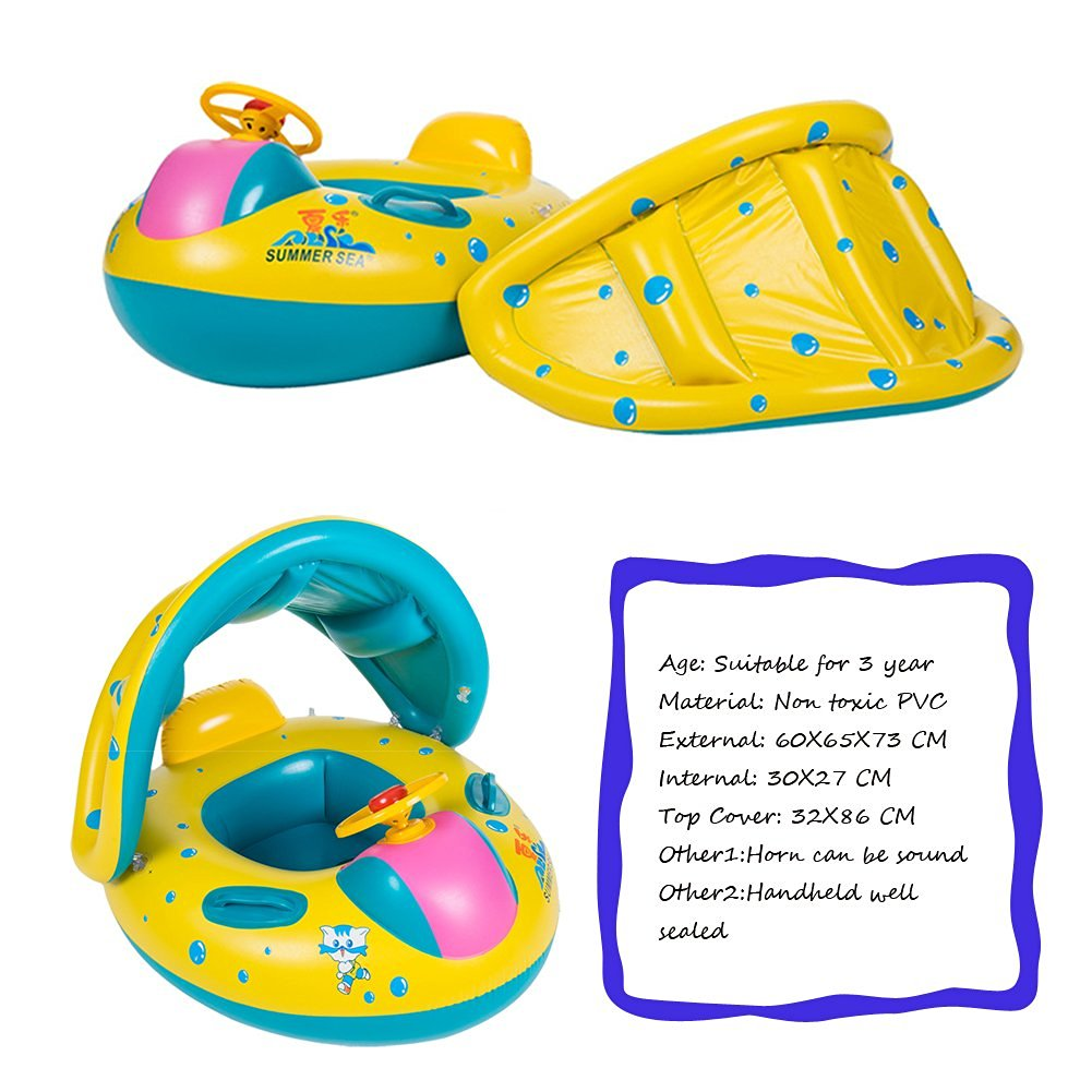 For Family Friends Beach Party Wholesale(L,70X50,Duck)) For Family Friends Beach Party Wholesale/(L/,70X50/,Duck/)/) Ziyier Kids Swim Relax Toy Fun,Inflatable Pool Float Summer Water Fun Kids Raft Tube Toy