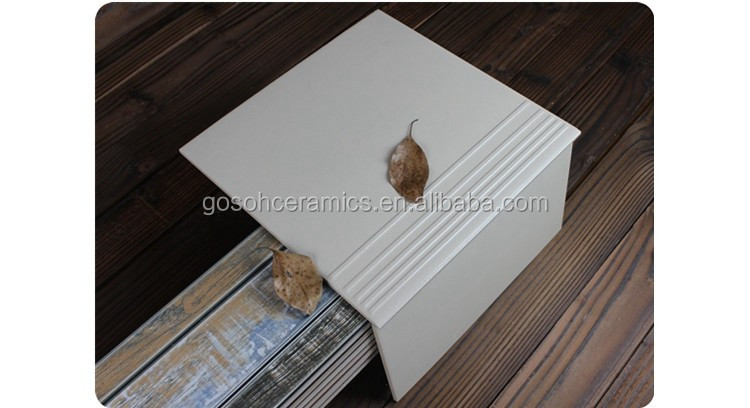 Professional Stair Manufacturer Ivory Homogeneous Step Tiles 24*24