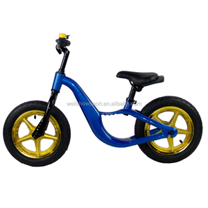 Wellshow Mini Balance Child Walking Bike No Pedal Kids Bicycle