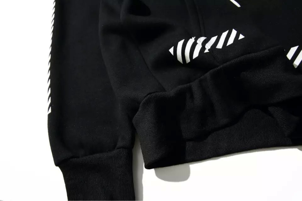 5de7022d612aa4 2019 OFF WHITE Fragment Design New Flash Hoodies OFF BLACK    VIRGIL ...