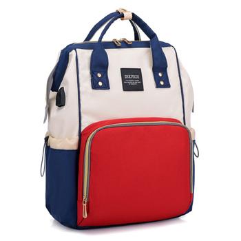Multi Function Waterproof Diaper Bag Mummy Backpack Nurse Large Capacity Ny Changing Baby