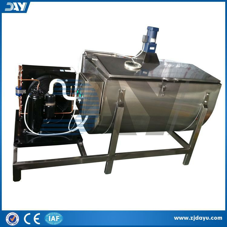 stainless steel truck milk cooling tank