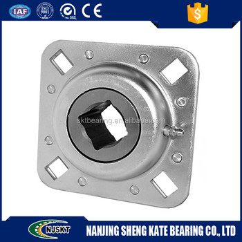 1 1 4 square shaft agriculture bearing flanged disc for Rastra block cost