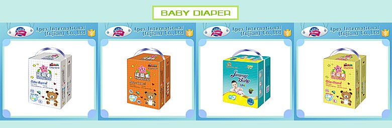 OEM brands disposable cloth like adult diapers