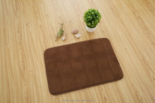 New Color Stripe memory foam floor mat Top Fashion from factory