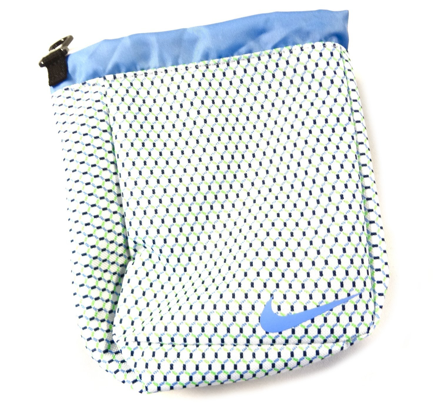 61735ff19c53 Get Quotations · NEW Nike Sport III Valuables Pouch White Blue Green