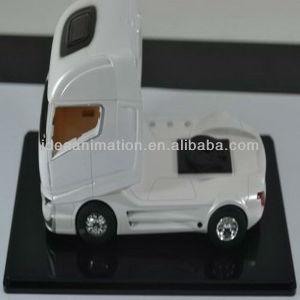 OEM 1:87 resin transportation car model