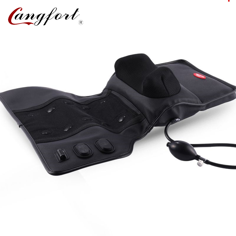Therapy far infrared heating air compress jad massage pillow