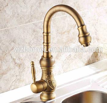 Upc Antique Brass Kitchen Sink Faucet Buy Upc Nsf Kitchen Faucet