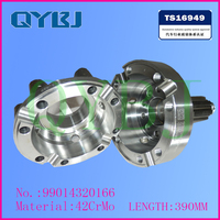 High accuracy differential housing, Best quanlity tricycle differential housing, SINOTRUK differential assembly